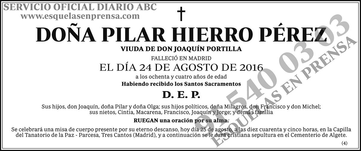Pilar Hierro Pérez